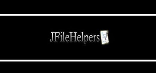 Tutorial arquivos com JFileHelpers