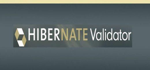 Tutorial Hibernate Validator