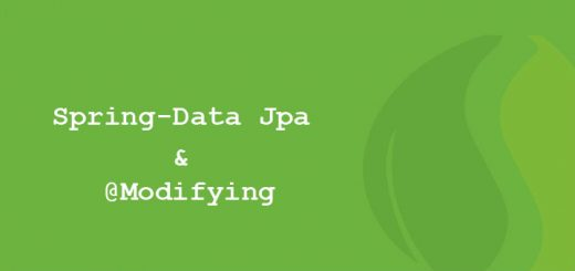 tutorial spring-data e @modifying